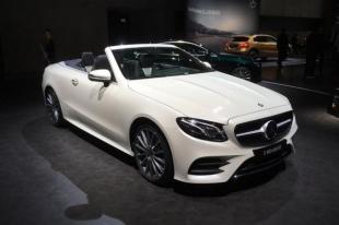 Mercedes-Benz представил в Женеве новый кабриолет E-Class
