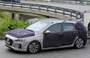 В Сеть выложили снимки нового фастбека Hyundai i30