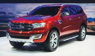 Компания Ford презентует в Шанхае обновленную версию модели Everest