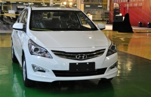 В Новосибирске презентовали новый Hyundai Solaris