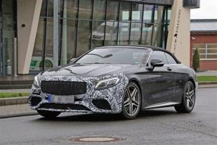 В Сети появились снимки обновленной модели Mercedes-AMG S 63 S-Class