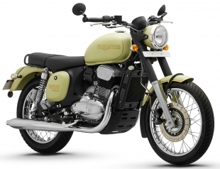 The network of photos of new motorcycles announced by the Jawa company