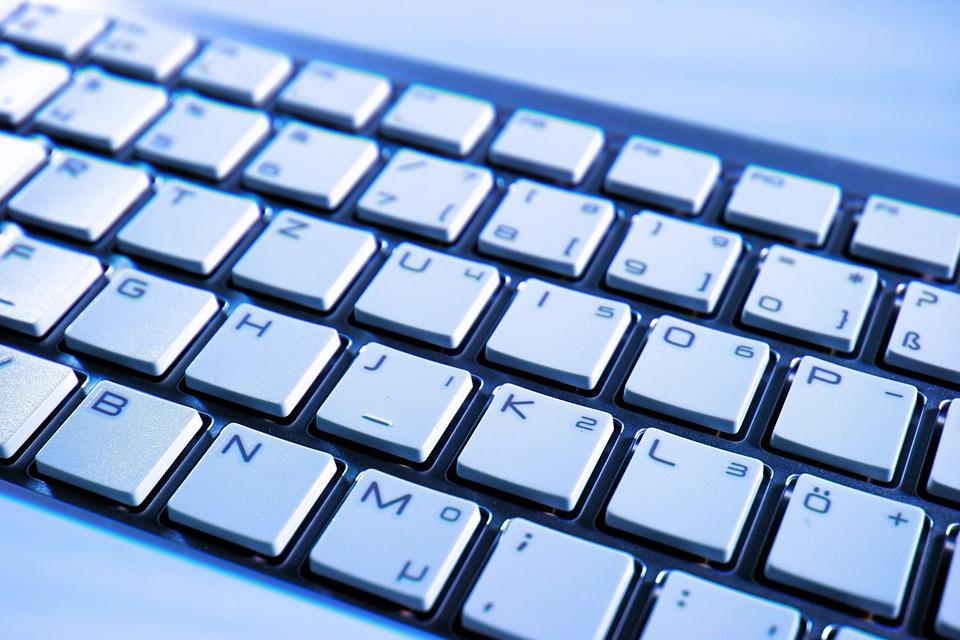 Картинка с клавиатурой, сделать открытку