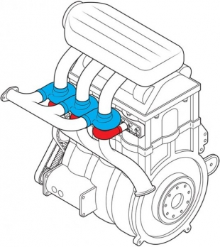 Презентован концепт наддувного двигателя нового типа
